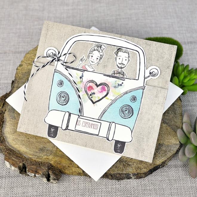 Partecipazioni Matrimonio Hippie.Partecipazione Di Matrimonio 39316 Cartastyle
